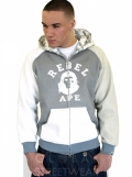 Rebel Ape Grey Official Hoodie